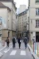 Students guide each other on City Walks: urbanism-based neighborhood tours